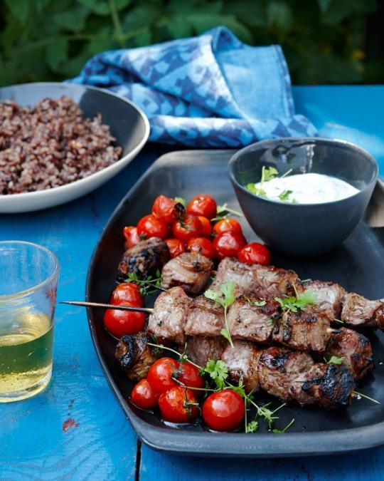 Gallagher Kitchen: Lamb Kebabs With Cardamom Rice From 'Kitchen Repertoire'