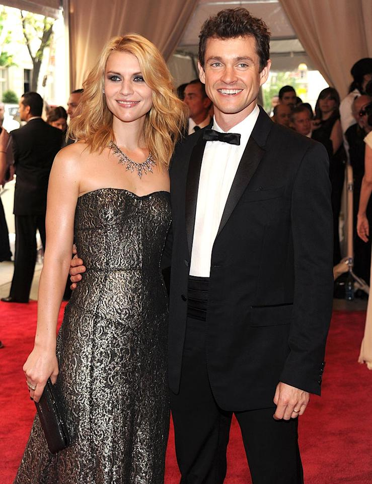 """After meeting on the set of the 2007 film """"Evening,"""" Claire Danes and English actor Hugh Dancy quietly announced their engagement in February 2008, and said """"I do"""" in an intimate, low-key ceremony in France that September. Kevin Mazur/<a href=""""http://www.wireimage.com"""" target=""""new"""">WireImage.com</a> - May 3, 2010"""