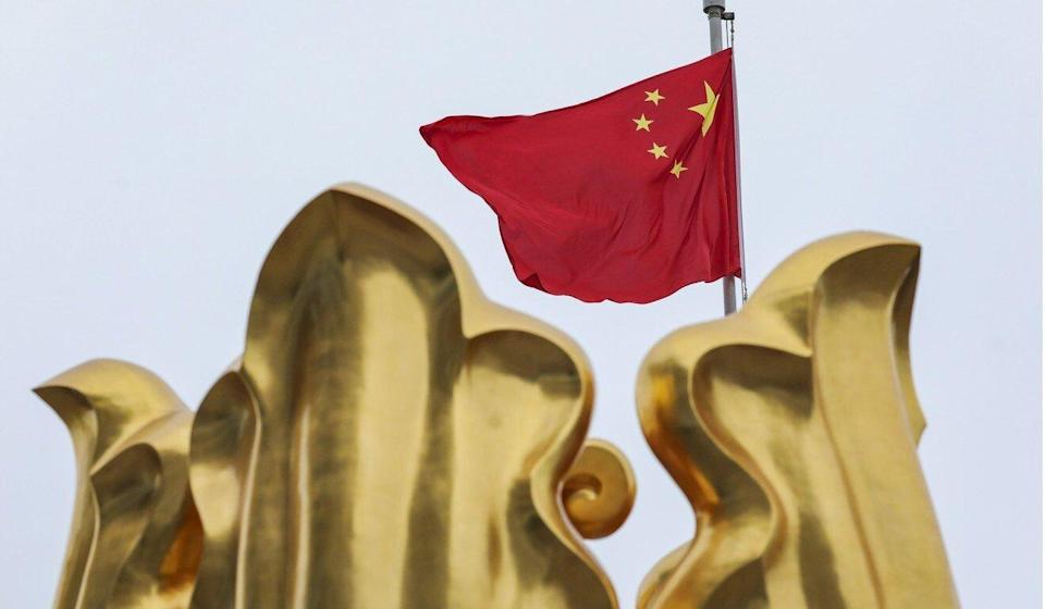 The flag-raising ceremony will be held at Golden Bauhinia Square in Wan Chai. Photo: Robert Ng