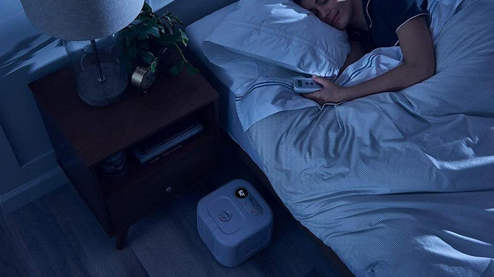 This high-tech mattress pad uses water to keep you cool during the night.