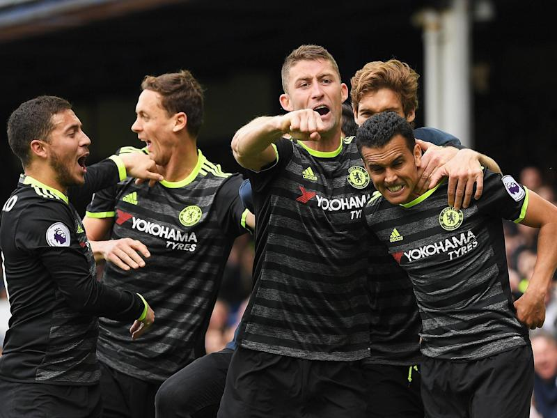 Chelsea won at Goodison Park to take a gigantic step towards the title: Getty