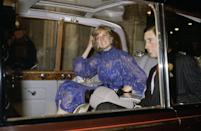 <p>The original end-of-the-night, into-the-car pap shot. </p>