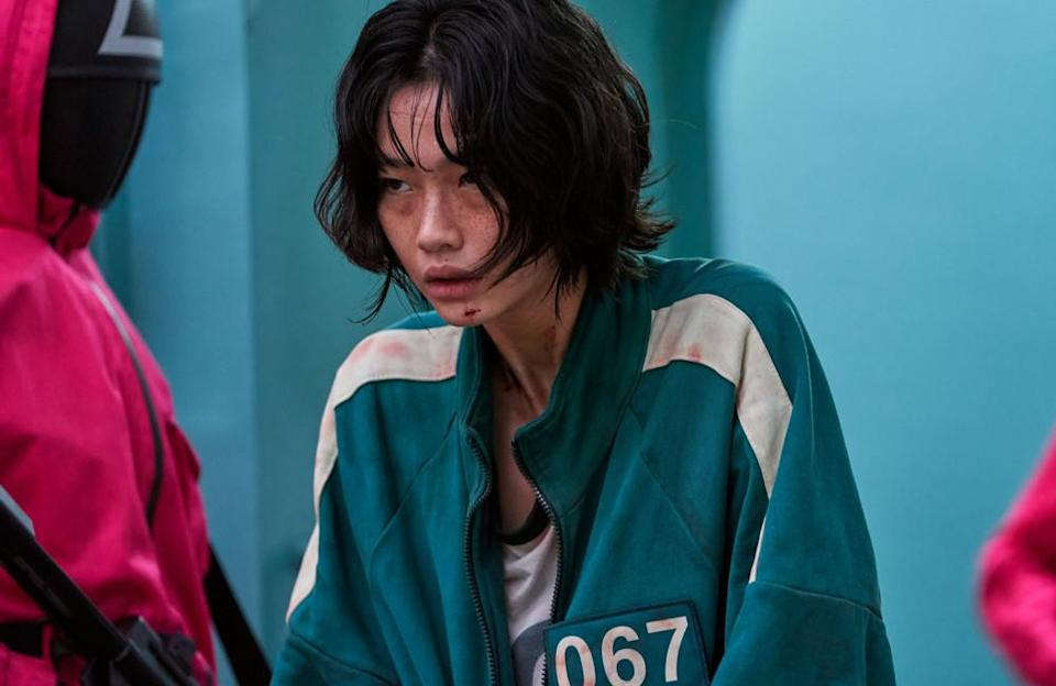 """Before becoming one of the most loved characters of the show, HoYeon had zero experience in acting. In fact, she used to be a model before auditioning for the role of tormented North Korean defector Kang Sae-byeok. """"I started to think about my next steps and that's when I figured maybe it could be a good idea to start acting,"""" Ho-yeon told Teen Vogue. She explained: """"I was modelling overseas but, during the holiday seasons, summer and winter, I came back to Korea for some time and I took acting lessons for about a month at a time."""" HoYeon is now the most followed South Korean actress on Instagram. Before 'Squid Game' launched, she had over 400,000 followers, which turned into 16.5 million after the show dropped on Netflix."""