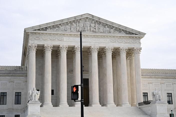 <p>File Image: The US Supreme Court is seen in Washington, DC on 7 December 2020</p> (AFP via Getty Images)