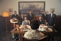 """<p>Based on the true story of Italian engineer Giorgio Rosa, this comedy from Italy follows the story of one man's attempt to build a platform in the Adriatic Sea off the coast of Italy and declare it a micronation.</p> <p><a href=""""http://www.netflix.com/title/81116948"""" class=""""link rapid-noclick-resp"""" rel=""""nofollow noopener"""" target=""""_blank"""" data-ylk=""""slk:Watch Rose Island on Netflix now."""">Watch <strong>Rose Island</strong> on Netflix now.</a></p>"""