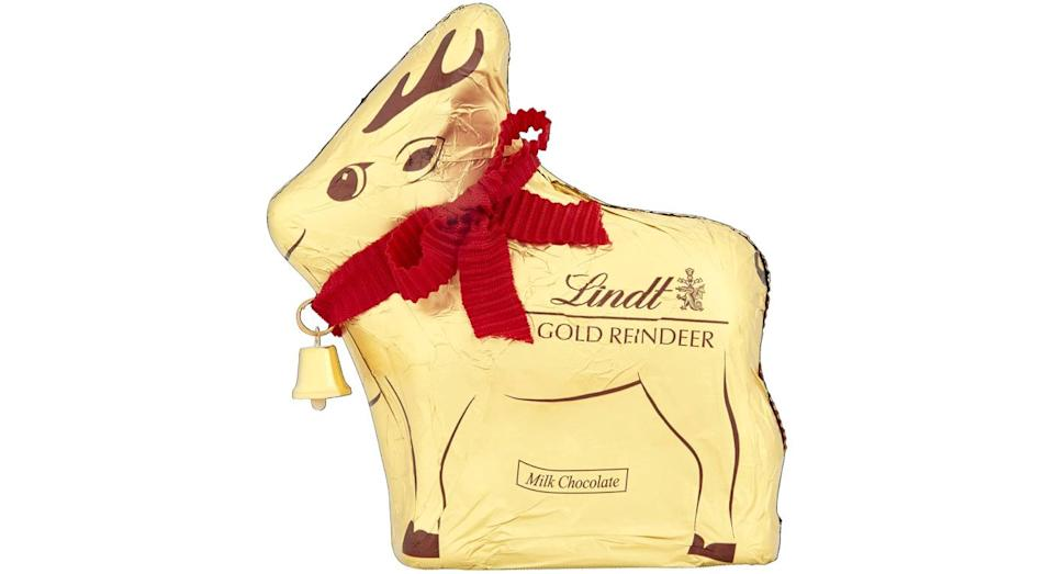Lindt Gold Reindeer Milk Chocolate