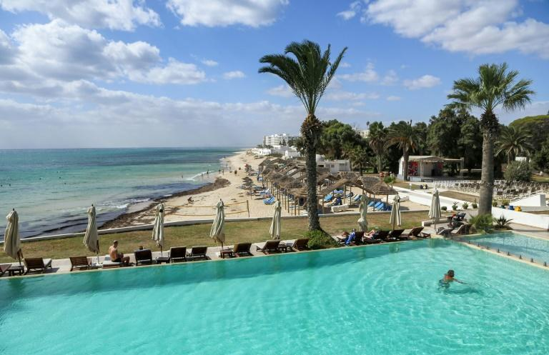 In a good year like 2019, Tunisia's tourism sector accounts for up to 14 percent of gross domestic product (AFP/ANIS MILI)