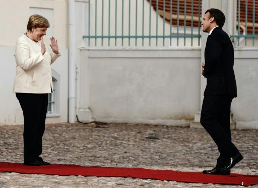 The leaders of EU heavyweights Germany and France met ahead of Berlin taking over the bloc's rotating presidency