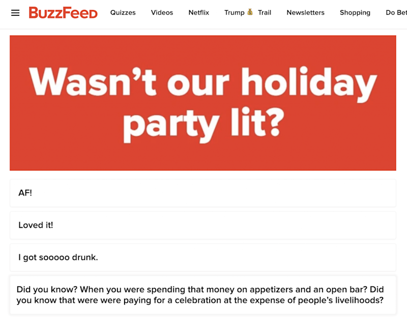 BuzzFeed Contributor Posts 'Do You Still Have a Job at BuzzFeed