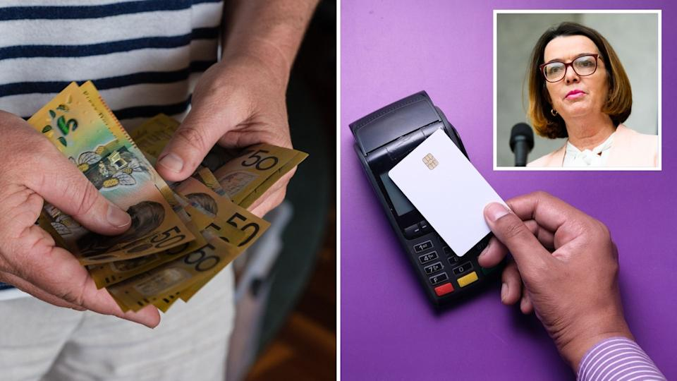 The cashless welfare card has returned. Images: Getty.