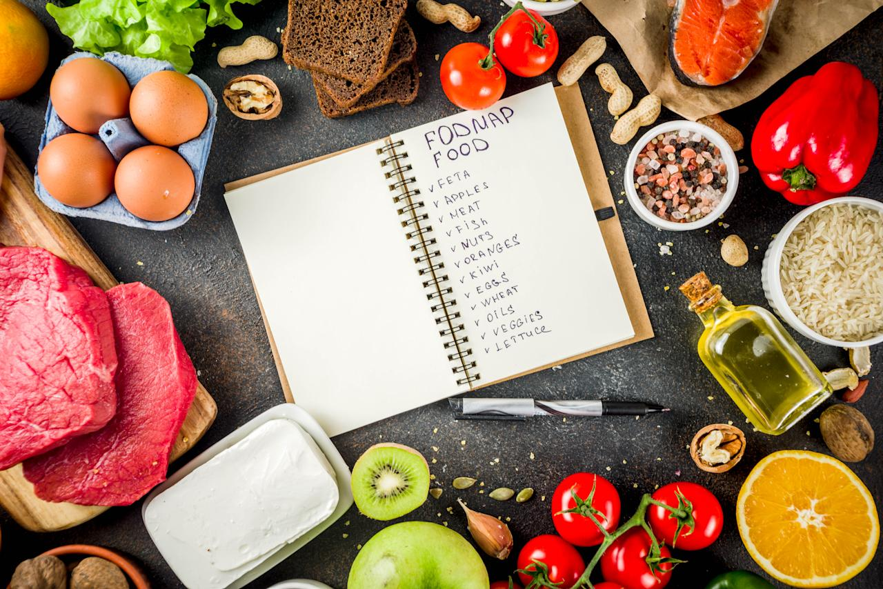 "<p><span>The</span><a rel=""nofollow"" href=""https://www.monashfodmap.com/ibs-central/i-have-ibs/starting-the-low-fodmap-diet/""><span> FODMAP</span></a><span> diet gained popularity as a guide to help manage irritable bowel syndrome (IBS). FODMAP stands for types of carbohydrates that that body absorbs poorly that can cause bloating, gas and stomach pain: Fermentable, oligosaccharides, disaccharides, monosaccharides and polyols.</span><br /><span>The diet works by categorizing food into both high and low FODMAP categories and begins by severely restricting all high FODMAP foods like cow's milk, poultry, wheat, high fructose corn syrup and onion. People on the diet stick to consuming low FODMAP foods and slowly introducing high FODMAP foods after eight weeks one at a time to detect sensitivity. </span><br /><span>At the end of 12 weeks, people are able to determine foods that don't irritate their digestive system and cause discomfort.</span><br /><span>(Image via Getty Images)</span> </p>"