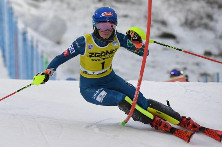 Mikaela Shiffrin finished second in the World Cup women's slalom race at Levi, following 10 months out of action
