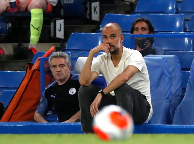 Pep Guardiola (Photo by Paul Childs/Pool via Getty Images)