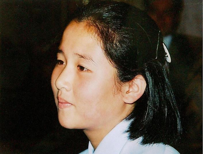 Kim Hye Gyong was one of eight Japanese nationals who died after they were abducted to North Korea in the 1970s and 1980s (AFP Photo/)