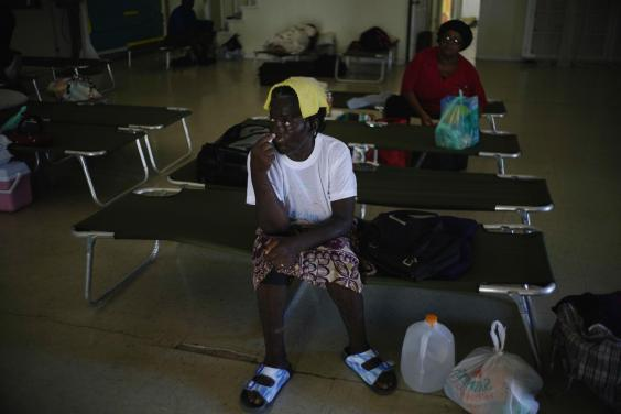 In Bahamas, authorities set up 14 shelters including one in Freeport on Grand Bahama (AP)
