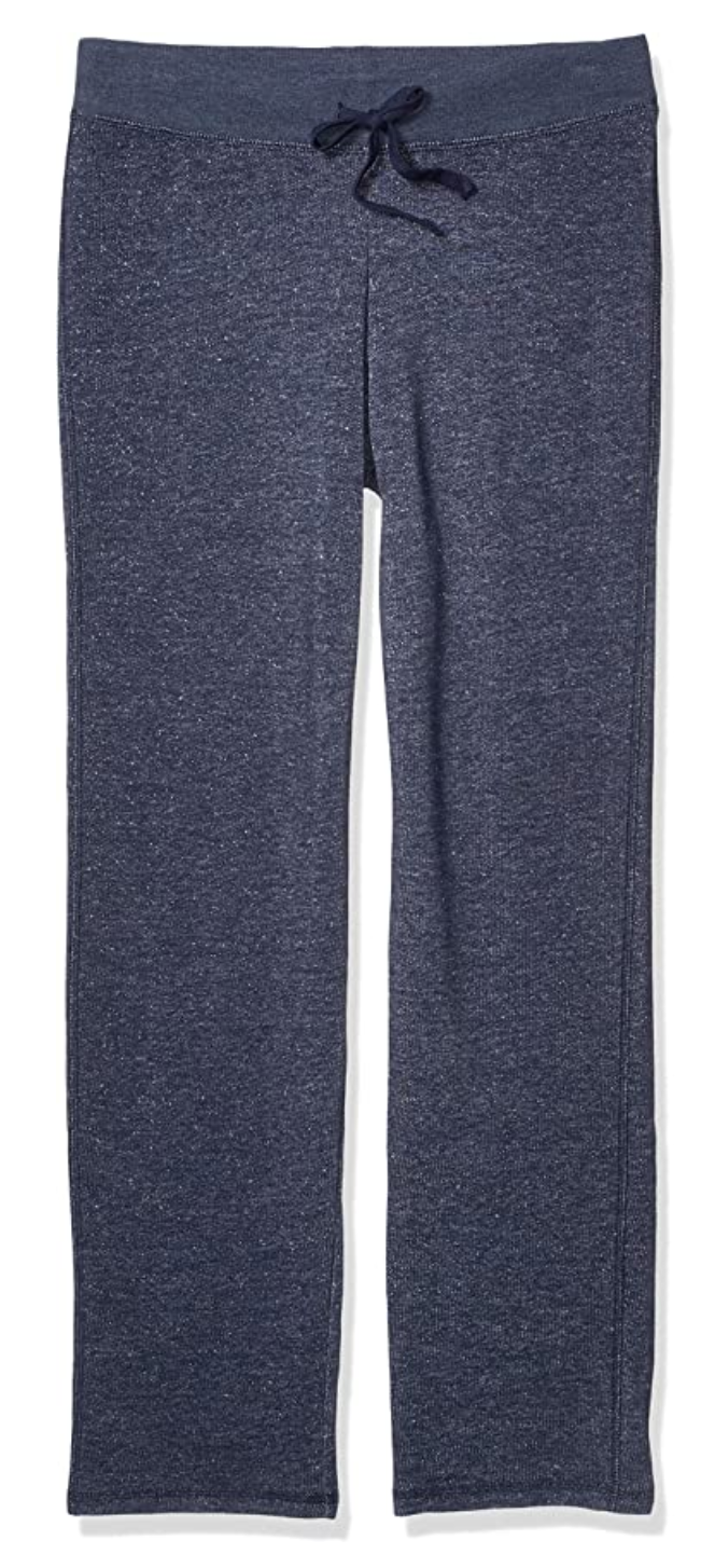 Hanes Women's French Terry Pant in Navy Heather