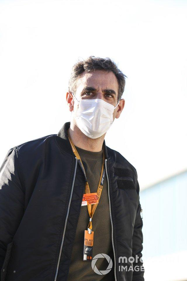 "Cyril Abiteboul, director ejecutivo de Renault F1 Team <span class=""copyright"">Charles Coates / Motorsport Images</span>"