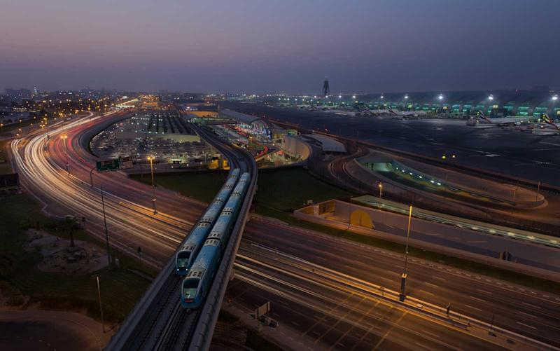 The Dubai International Airport is one of the world's largest. | Harith Samarawickrama/Getty Images