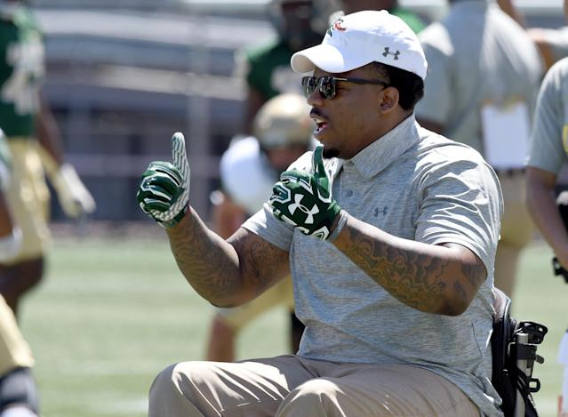 UAB staffer Tim Alexander provided a really cool moment Saturday. (Via AP)