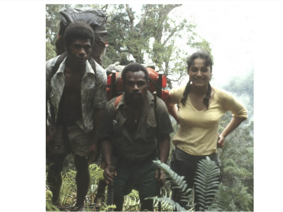 Nalini Nadkarni of the University of Utah ate grubs and fruit bats during her work as a field assistant in Papua New Guinea.