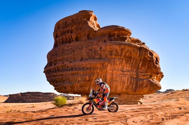 """#1 Red Bull KTM Factory Racing: Toby Price <span class=""""copyright"""">A.S.O. </span>"""