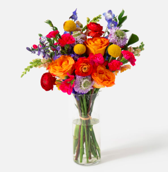 """<br><br><strong>Urban Stems</strong> The Prism, $, available at <a href=""""https://go.skimresources.com/?id=30283X879131&url=https%3A%2F%2Furbanstems.com%2Fproducts%2Fflowers%2Fthe-prism%2FFLRL-B-00123.html"""" rel=""""nofollow noopener"""" target=""""_blank"""" data-ylk=""""slk:Urban Stems"""" class=""""link rapid-noclick-resp"""">Urban Stems</a>"""