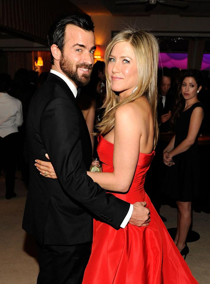 "<p>""It was just everything we wanted it to be, and [we are] very happy that we didn't have to see our faces on the cover of a magazine,"" Aniston [told Yahoo Beauty](https://www.yahoo.com/beauty/kl-132607758.html) about her wedding to Theroux in <a rel=""nofollow"" href=""http://people.com/celebrity/jennifer-aniston-and-justin-theroux-marry-in-bel-air-on-august-5?mbid=synd_yahoostyle"">August 2015</a>. They were so serious about privacy that they reportedly told guests they were attending a party for Theroux's birthday. The ol' wedding bait-and-switch. ""Guests were certainly surprised,"" a source <a rel=""nofollow"" href=""http://people.com/celebrity/jennifer-aniston-and-justin-theroux-marry-in-bel-air-on-august-5?mbid=synd_yahoostyle"">told <em>People</em></a>.</p>"