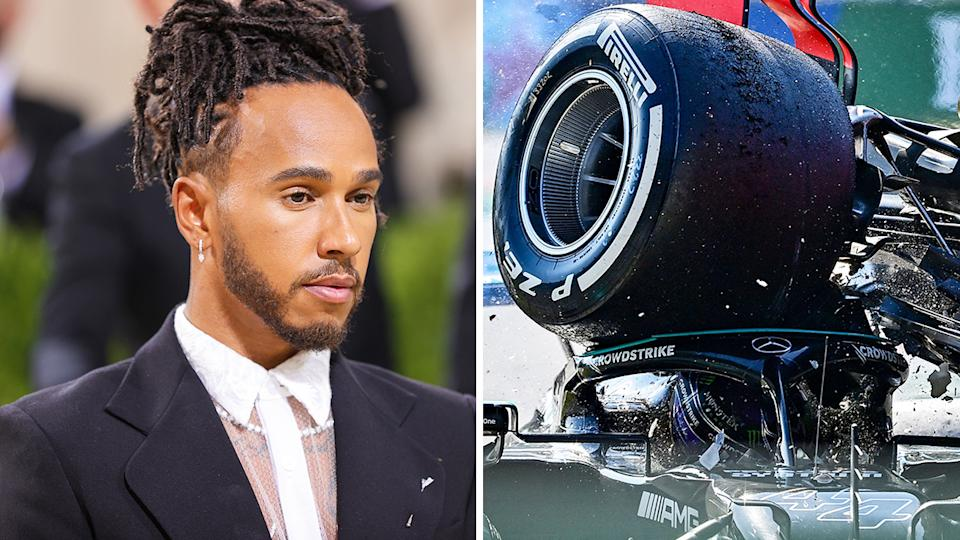 Lewis Hamilton complained of neck soreness after the Italian GP, but attended the Met Gala in New York the following day.