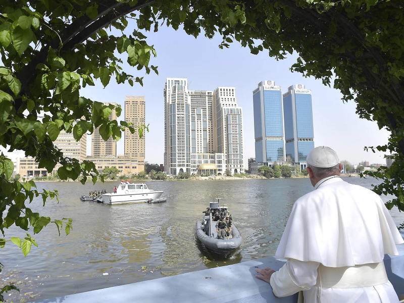 The Pope this week condemned Isis attacks on Coptic Churches in Cairo: AP