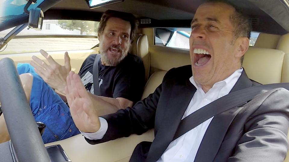 Comedians in Cars Getting Coffee Jerry Seinfeld and Jim Carrey