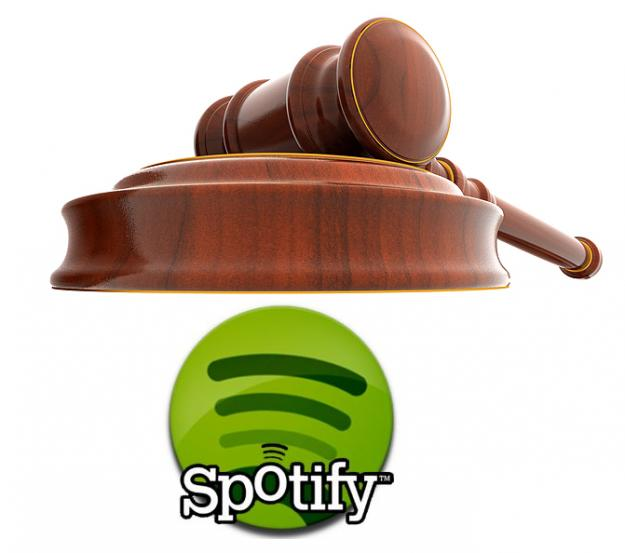 Spotify sued for patent infringement