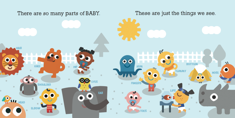 parts of baby
