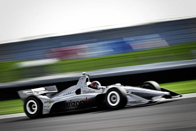 Power denies Wickens Indy road course pole