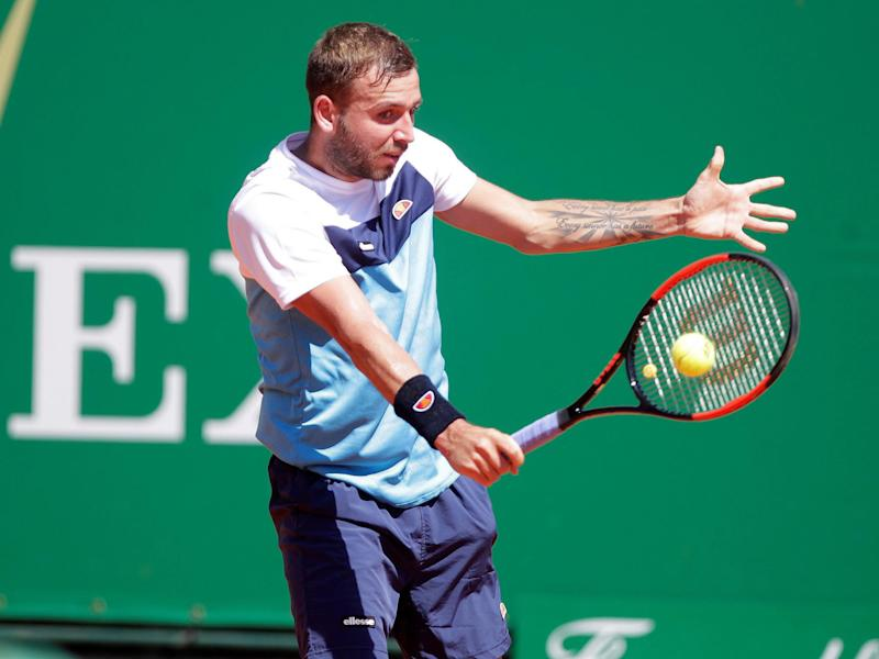Evans held his nerve to move into the second round of the Barcelona Open: Getty