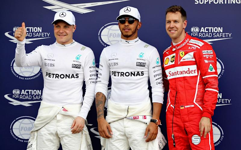 Lewis Hamilton takes pole in the Australian GP ahead of Sebastian Vettel and Valtteri Bottas - Getty Images AsiaPac