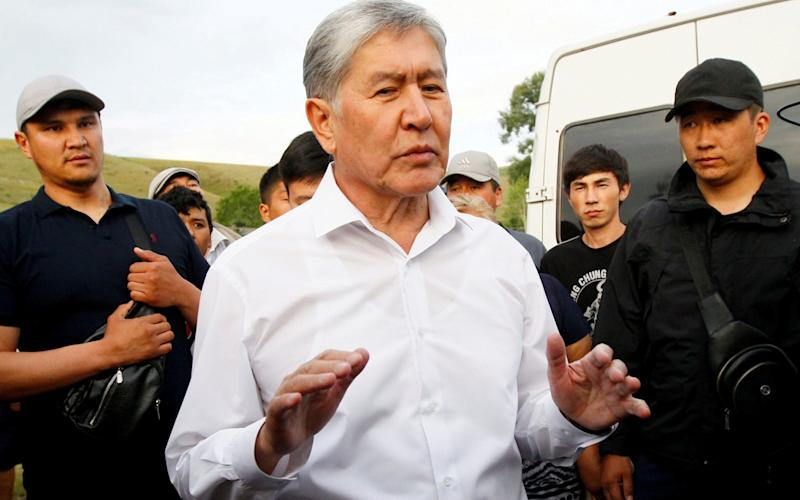 Atambayev, who was initially wanted for questioning as a witness in an investigation, initially repelled an attack on his compound - REUTERS