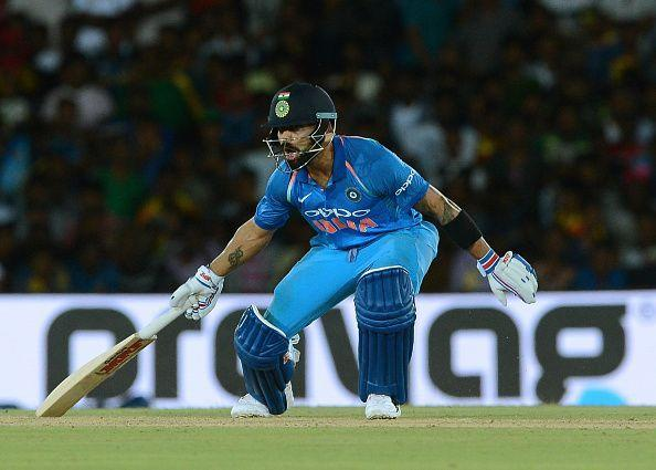 Kohli started the ODI series in style with an unbeaten 82
