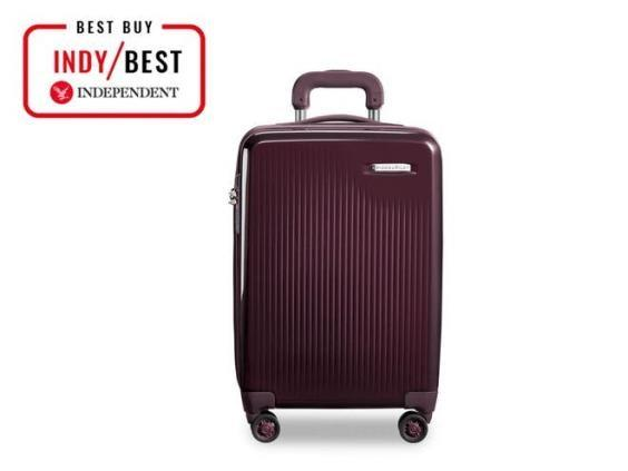 Keep your valuable safely stowed away in this sleek cabin bag (John Lewis & Partners)