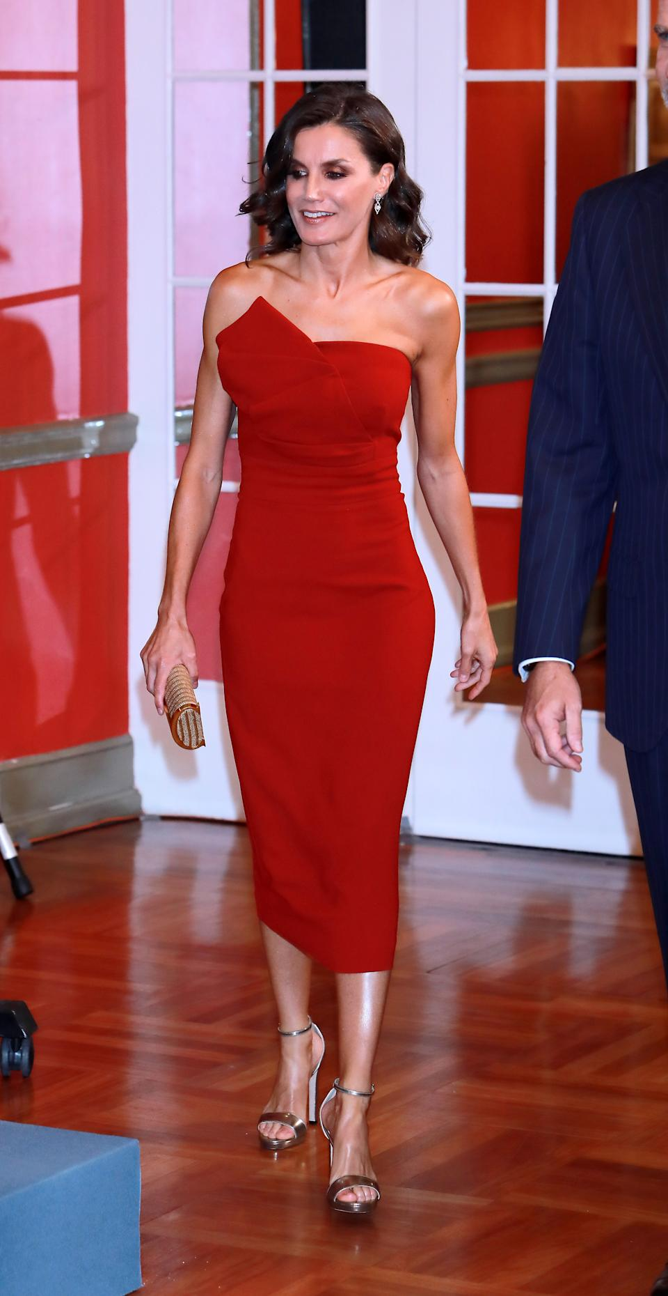 MADRID, SPAIN - OCTOBER 01: Queen Letizia of Spain attends the 30th anniversary of 'El Mundo' Newspaper at Hotel Westin Palace on October 01, 2019 in Madrid, Spain. (Photo by Europa Press Entertainment/Europa Press via Getty Images)