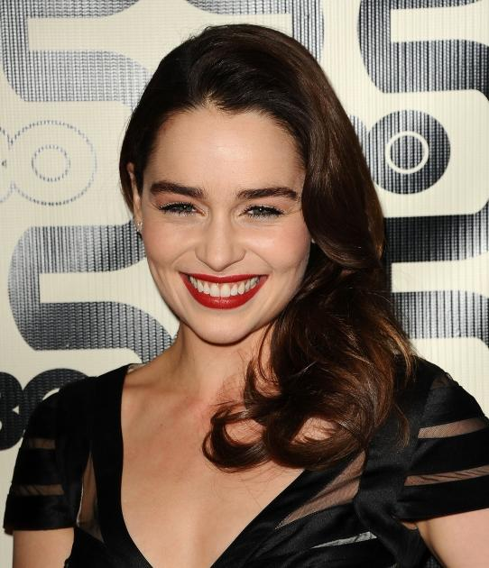 Emilia Clarke attends the HBO after party at the 70th annual Golden Globe Awards at Circa 55 restaurant at the Beverly Hilton Hotel on January 13, 2013 -- Getty Images