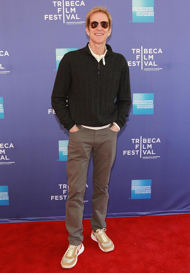 "NEW YORK, NY - APRIL 27:  Actor Matthew Modine attends Tribeca Talks: After the Movie ""And the Band Played On"" during the 2013 Tribeca Film Festival on April 27, 2013 in New York City.  (Photo by Robin Marchant/Getty Images)"