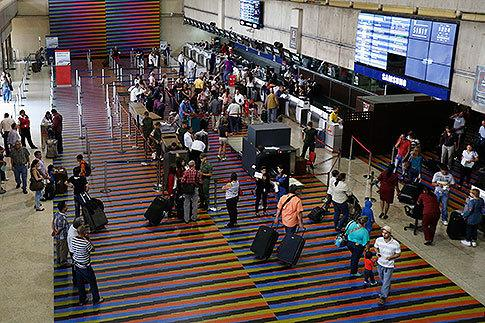 'Get a boat!' Venezuela flights booked full for months