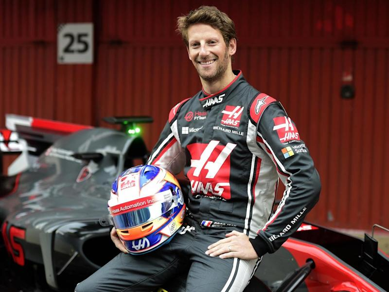 Grosjean is now one of the more experienced drivers on the grid (AFP/Getty)