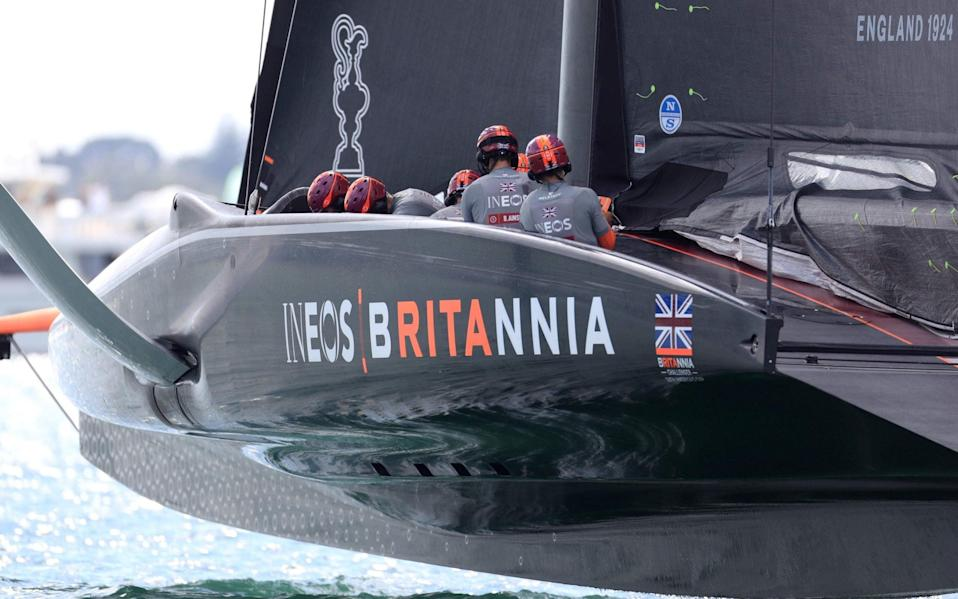Team Ineos UK have opened up well at the Prada Cup - AFP