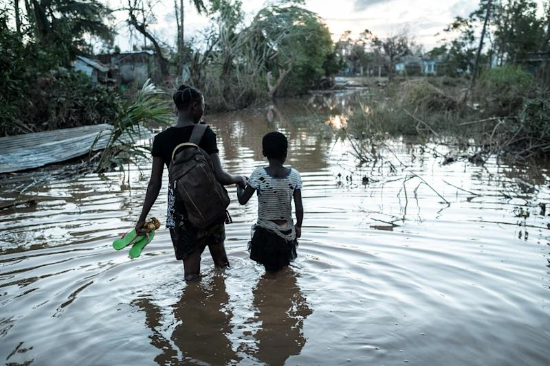 Women and children were disproportionaltely affected by the disaster, said IFRC chief Elhadj As Sy (AFP Photo/Yasuyoshi CHIBA)