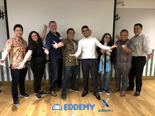 Eddemy won the opportunity to go to EdtechX Event in London 2020 as the sole representative from Indonesia.
