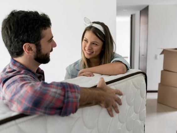 Once your mattress is delivered, make sure you let it air for at least four hours. This will remove any storage smells of damp or cold (iStock)