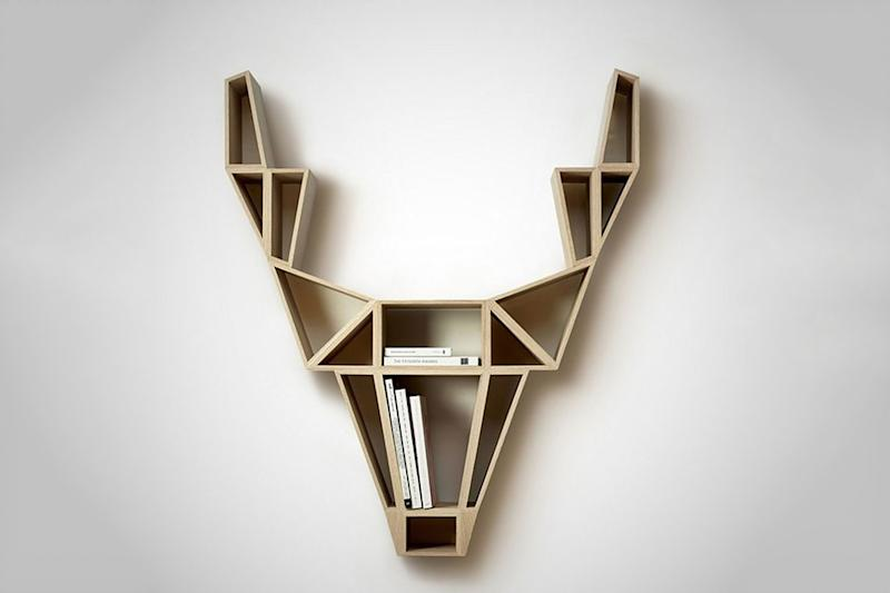 These modular shelves from Köllen can flip up or down depending on your needs
