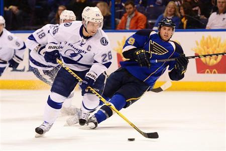NHL: Tampa Bay Lightning at St. Louis Blues