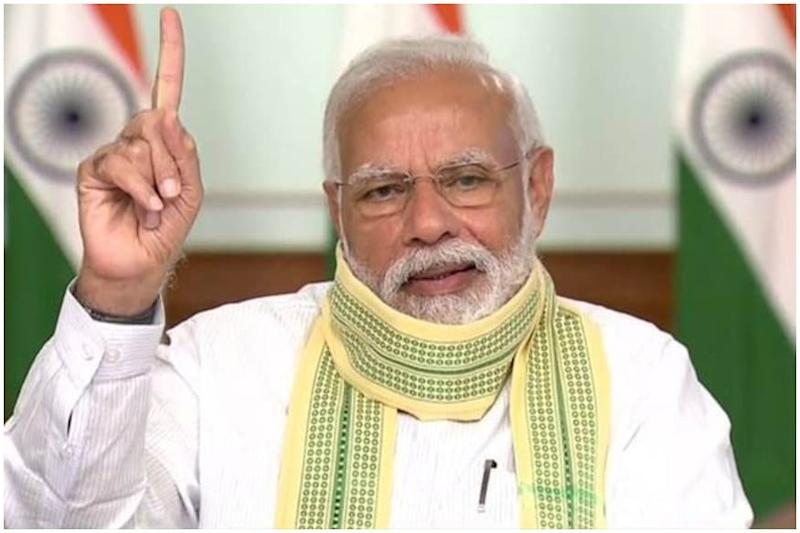 PM Modi Cites Example of Bulgarian PM Fined Rs 13,000 for Not Wearing Mask, Says 'No One above Law'